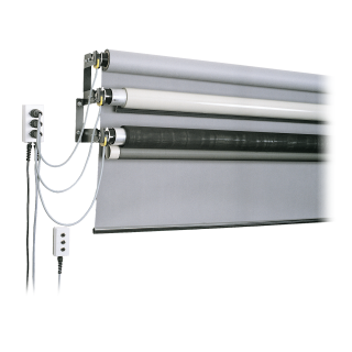 STH-Background System, motorized, for 3.55 m paper