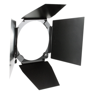 "4-wing Barn Door with Filter Holder for 9"" reflectors"