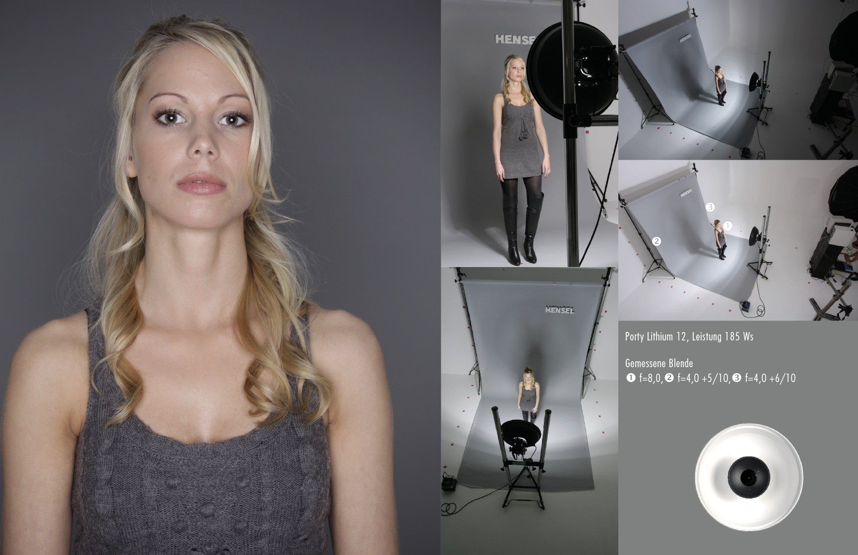22 Quot Acw Beauty Dish For Ringflash Hensel