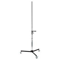 Column stand with casters