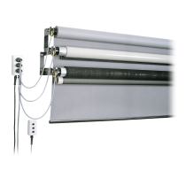 STH background System, motorized, for 2,72 m paper
